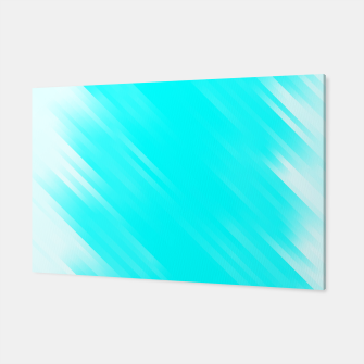 stripes wave pattern 7v1 chi Canvas thumbnail image