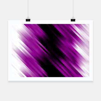 stripes wave pattern 7v1 dei Poster thumbnail image