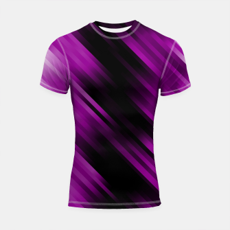 stripes wave pattern 7v1 dei Shortsleeve rashguard thumbnail image