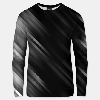 stripes wave pattern 7v1 bwi Unisex sweater thumbnail image