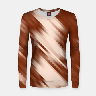 stripes wave pattern 7v1 co Women sweater thumbnail image
