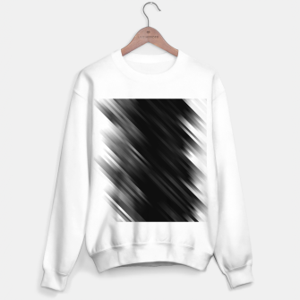 stripes wave pattern 7v1 bwi Sweater regular thumbnail image