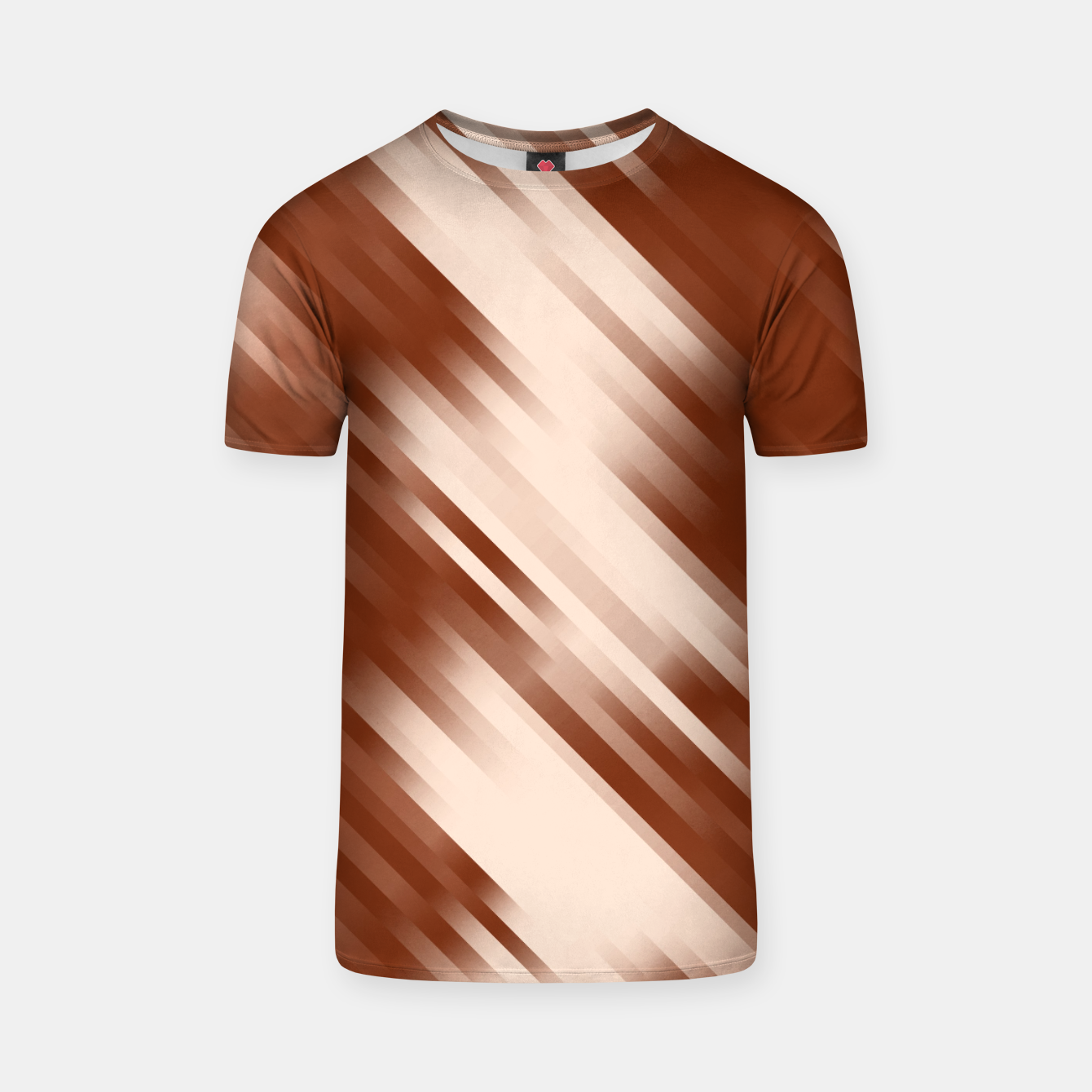 Image of stripes wave pattern 7v1 co T-shirt - Live Heroes