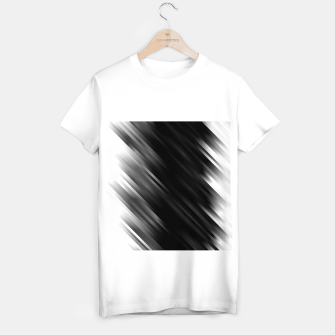 stripes wave pattern 7v1 bwi T-shirt regular thumbnail image