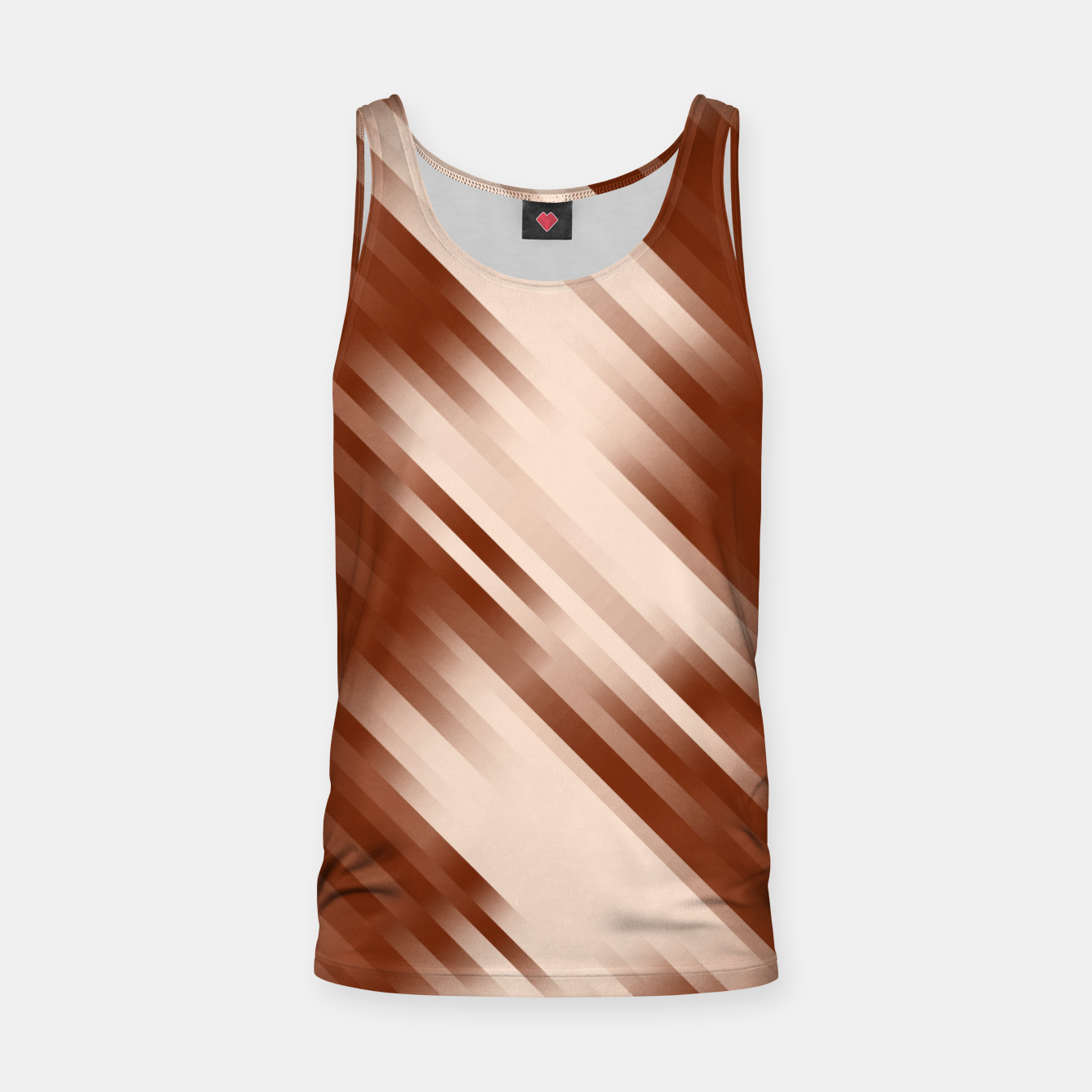 Image of stripes wave pattern 7v1 co Tank Top - Live Heroes