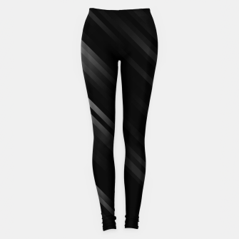 stripes wave pattern 7v1 bwi Leggings thumbnail image