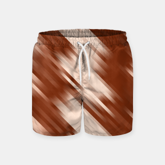 stripes wave pattern 7v1 co Swim Shorts thumbnail image
