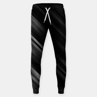stripes wave pattern 7v1 bwi Sweatpants thumbnail image