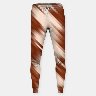 stripes wave pattern 7v1 co Sweatpants thumbnail image