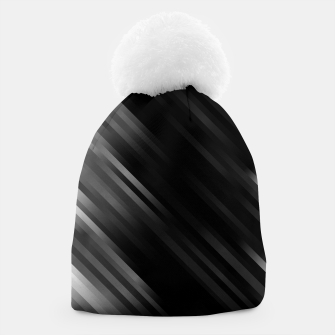 stripes wave pattern 7v1 bwi Beanie thumbnail image