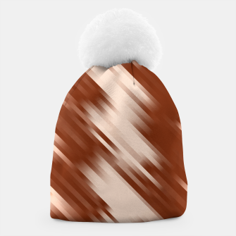 stripes wave pattern 7v1 co Beanie thumbnail image