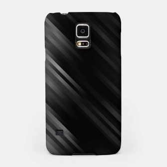 stripes wave pattern 7v1 bwi Samsung Case thumbnail image