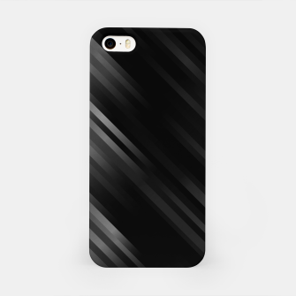 stripes wave pattern 7v1 bwi iPhone Case thumbnail image