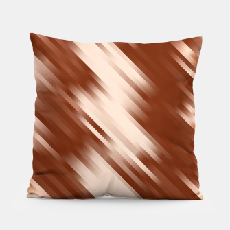 stripes wave pattern 7v1 co Pillow thumbnail image