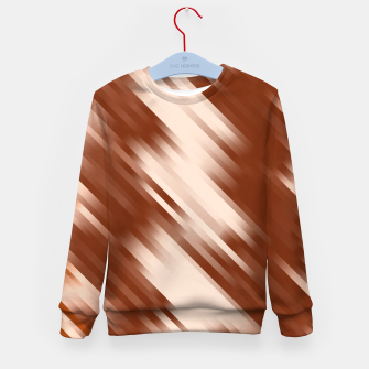 stripes wave pattern 7v1 co Kid's sweater thumbnail image