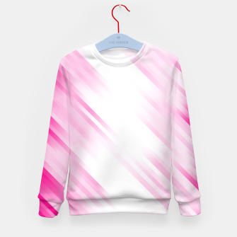 stripes wave pattern 7v1 dp Kid's sweater thumbnail image