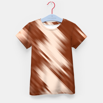 stripes wave pattern 7v1 co Kid's t-shirt thumbnail image