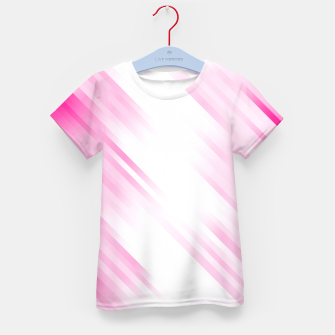 stripes wave pattern 7v1 dp Kid's t-shirt thumbnail image
