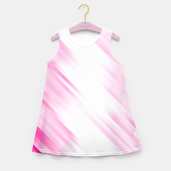 stripes wave pattern 7v1 dp Girl's summer dress thumbnail image