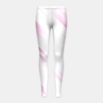 stripes wave pattern 7v1 dp Girl's leggings thumbnail image