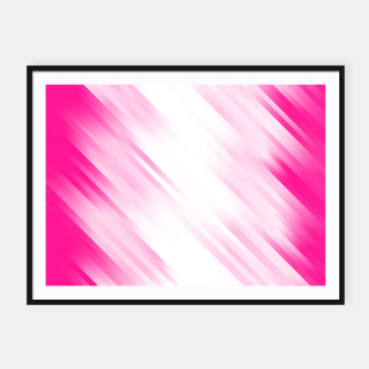 stripes wave pattern 7v1 dp Framed poster thumbnail image