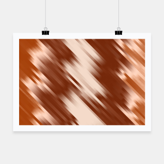 stripes wave pattern 7v1 co Poster thumbnail image