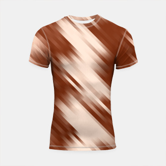 stripes wave pattern 7v1 co Shortsleeve rashguard thumbnail image