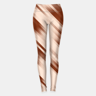 stripes wave pattern 7v1 co Leggings thumbnail image