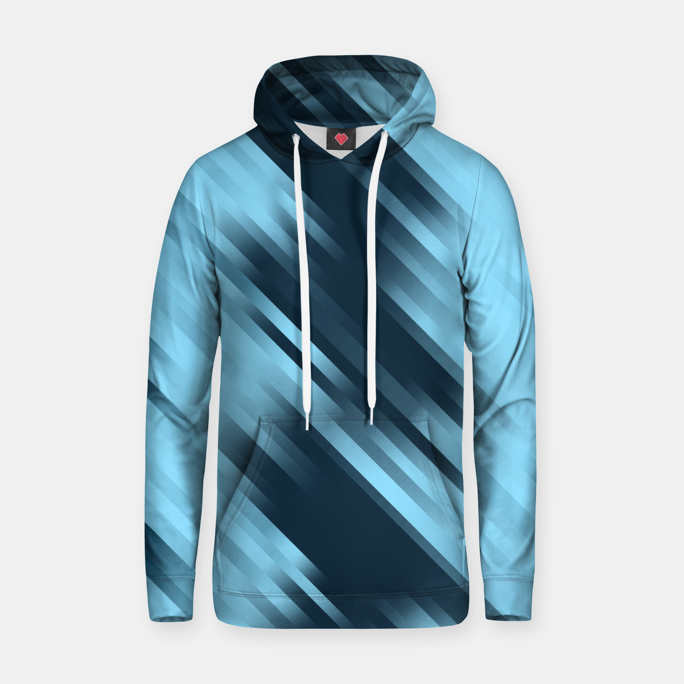Image of stripes wave pattern 7v1 coi Hoodie - Live Heroes