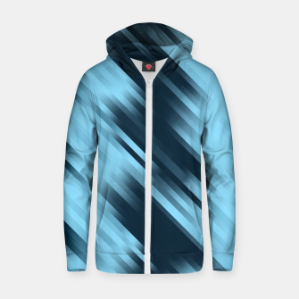 stripes wave pattern 7v1 coi Zip up hoodie thumbnail image