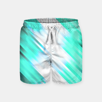 stripes wave pattern 7v1 c82 Swim Shorts thumbnail image