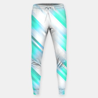 stripes wave pattern 7v1 c82 Sweatpants thumbnail image