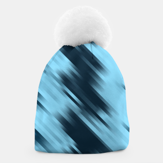 stripes wave pattern 7v1 coi Beanie thumbnail image