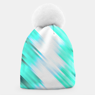 stripes wave pattern 7v1 c82 Beanie thumbnail image