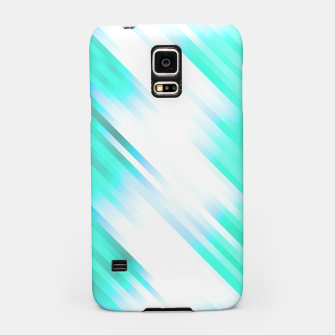 stripes wave pattern 7v1 c82 Samsung Case thumbnail image