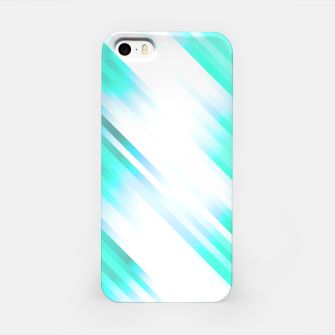 stripes wave pattern 7v1 c82 iPhone Case thumbnail image