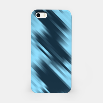 stripes wave pattern 7v1 coi iPhone Case thumbnail image