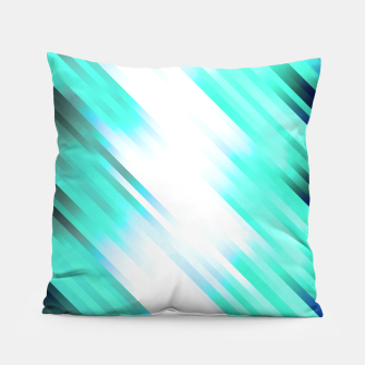 stripes wave pattern 7v1 c82 Pillow thumbnail image