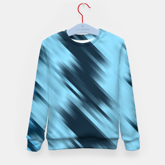 stripes wave pattern 7v1 coi Kid's sweater thumbnail image