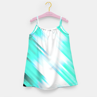 stripes wave pattern 7v1 c82 Girl's dress thumbnail image
