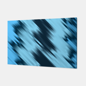 stripes wave pattern 7v1 coi Canvas thumbnail image