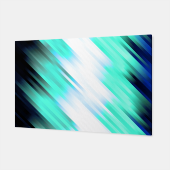 stripes wave pattern 7v1 c82 Canvas thumbnail image