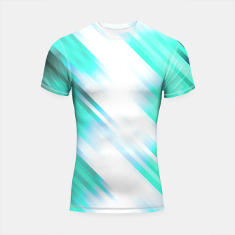stripes wave pattern 7v1 c82 Shortsleeve rashguard thumbnail image