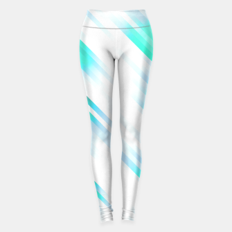 stripes wave pattern 7v1 c82 Leggings thumbnail image