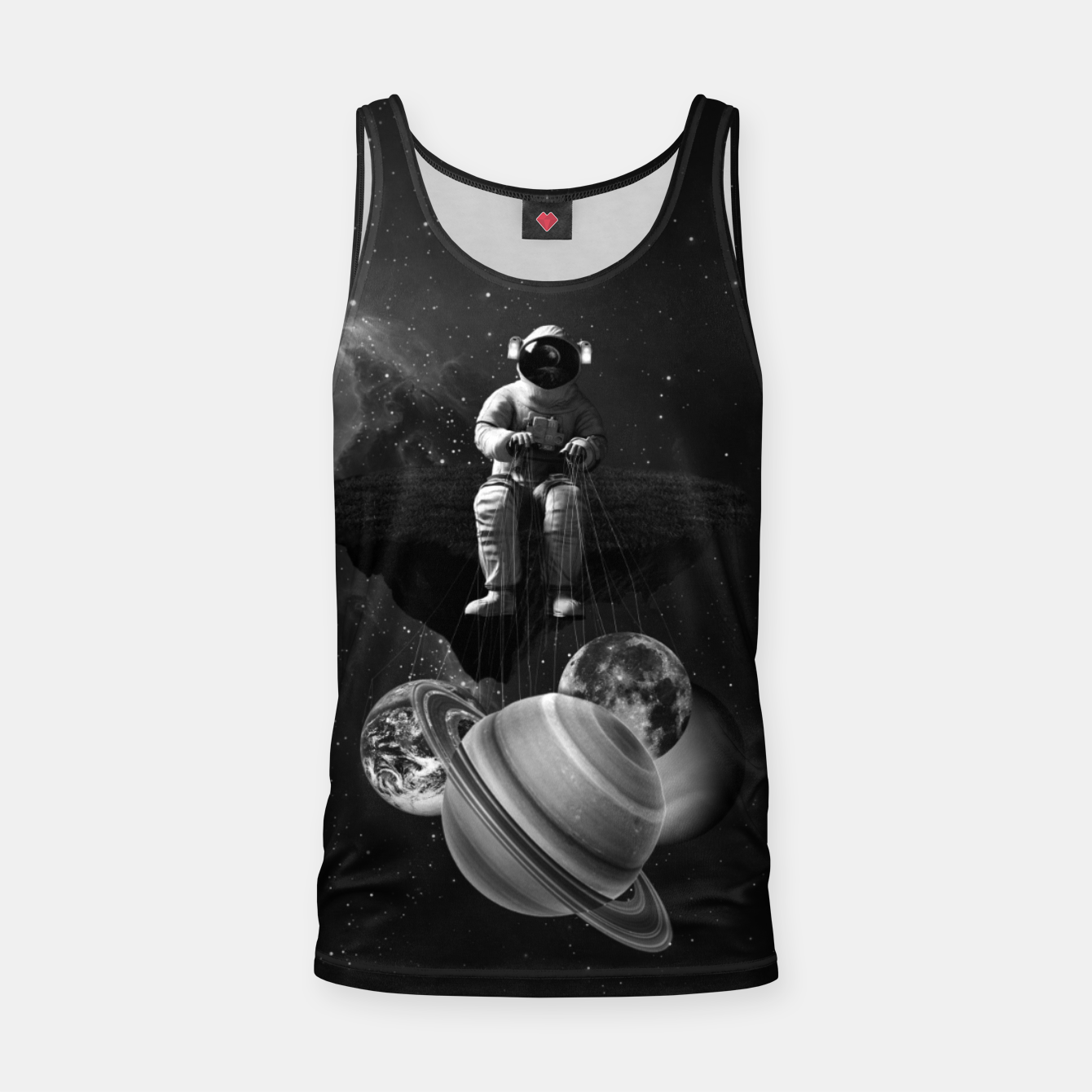 Image of Puppet Tank Top - Live Heroes