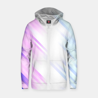 stripes wave pattern 7v1 db Zip up hoodie thumbnail image