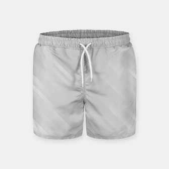 stripes wave pattern 7v1 gri Swim Shorts thumbnail image