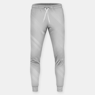 stripes wave pattern 7v1 gri Sweatpants thumbnail image