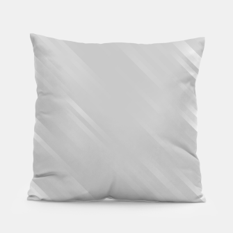 stripes wave pattern 7v1 gri Pillow thumbnail image
