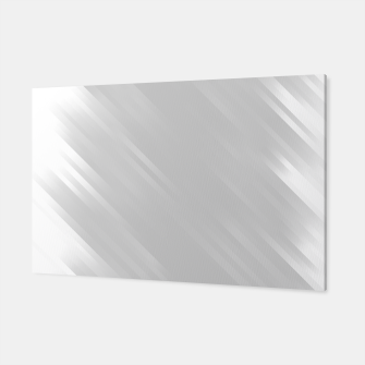 stripes wave pattern 7v1 gri Canvas thumbnail image